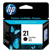 Cartucho HP F380/3920/3940/D1320/D1460/1400/1410/F4180/J3680 Preto (21)  7ML
