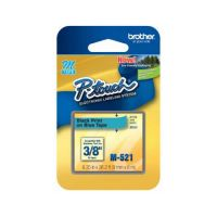 Fita Rotulador Brother PT65/70/80/85/90/100/110 9mm Preto/Azul