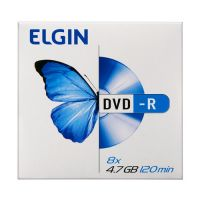 DVD-R 4.7 GB c/ Envelope Elgin