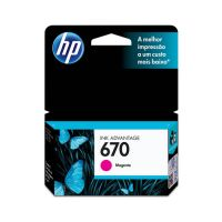 Cartucho HP 3225/4615/4625/5525 Magenta (670)  4 ml