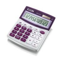 Calculadora de Mesa Elgin MV-4127 12 Dígitos Roxa