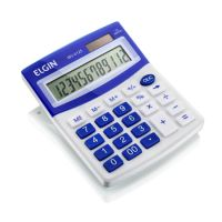 Calculadora de Mesa Elgin MV4125 12 Dígitos Azul