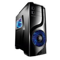 �Gabinete ATX Multilaser Gamer Warrior Storm Preto C/ Led