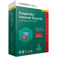 Licença Antivirus Kaspersky Internet Security Renovação -  1 User (Win8, Mac, Android)