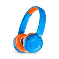 Headphone JBL JR300 Bluetooth Azul/Laranja